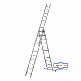 Лестница 3-секционная ELKOP VHR 3*16