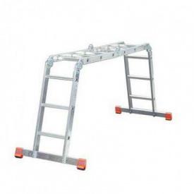 Шарнирная универсальная лестница KRAUSE Corda MultiMatic 4x3 (85108)