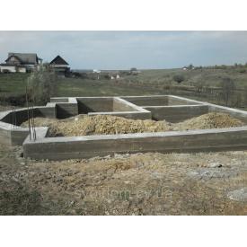 Заливка фундаментов под частные дома