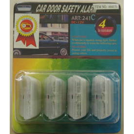 Накладки на двери 64151White/green с габаритом и стробоскопом с подсветкой (компл.)