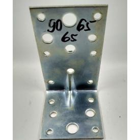 Уголок металлический разносторонний 90х55х55