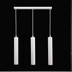 Светильник подвесной Трубка MSK Electric Е27 металл (NL 3522-3 W)