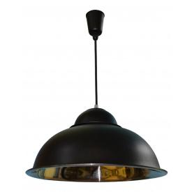 Світильник підвісний MSK Electric E27 (СП 3614 BK+CR)