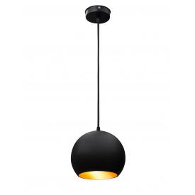 Светильник подвесной Msk Electric Шар 180mm (NL 1815 BK+GD)