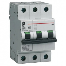 Автоматичний вимикач General Energy G63 C03 6kA