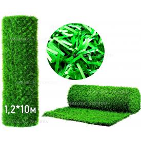 Забор Green mix зелёная трава H -1х10