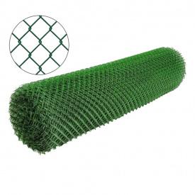 Сетка рабица с полимерным покрытием 25х25мм/1,5/2,50мм 1,5м/10м