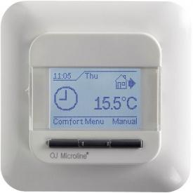 Програмований термостат для теплої підлоги OJ Electronics OCC4-1991