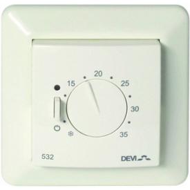 Терморегулятор механический (ручной) для теплого пола DEVIreg 532