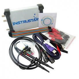 Осциллограф USB приставка ISDS205X, DDS, лог анализатор, 2 канала 20МГц