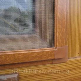 Москитные сетки на деревянные окна ФОП Воловник под заказ