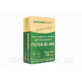 Цемент Кривой Рог ПЦ 400 25кг