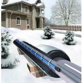 Нагревательный кабель FreezStop 25 СМБЕ 2-4 для обогрева труб 120 Вт 4 м