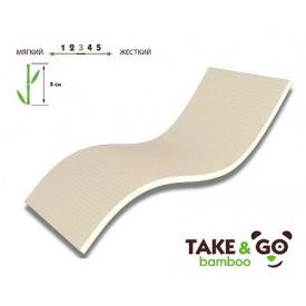 Мини-матрас Take&Go Bamboo Top Ultra 140х200