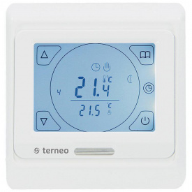 Сенсорний програмований Терморегулятор terneo sen 16А 5-95С