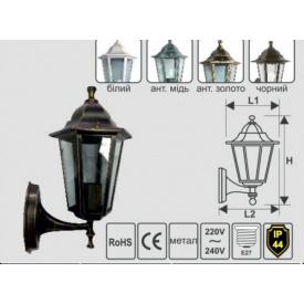 Парковый светильник Lemanso,настенный PL6101 черный