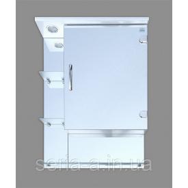 Навесной зеркальный шкафчик для ванной комнаты с подсветкой ВЕРОНА