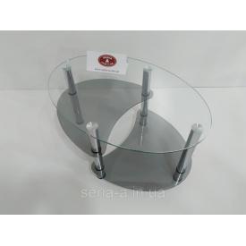 Журнальный стол стеклянный Инсбрук 600х900х520