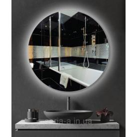 Зеркало круглое с LED подсветкой ML - 07 (500х500х30)