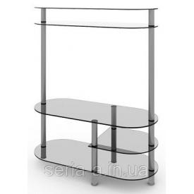 Стеклянная ТВ-тумба №Ницца 850х350х1500