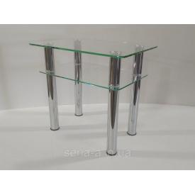 Журнальный стол Овьедо (прозрачное стекло 8/6 мм)