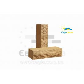 Цегла облицювальна ложковой Скеля 250х57х65 мм половинка