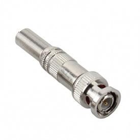 Разъем ATIS BNC-A с металлическим колпачком под винт