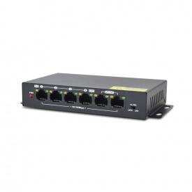Неуправляемый PoE-коммутатор ATIS PoE-1006-4P Pro с 4 портами PoE