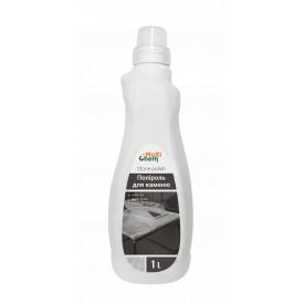 Поліроль для каменю з ефектами: очищення антистатик захист від пальців дезінфекція блиск Stone polish 1 л