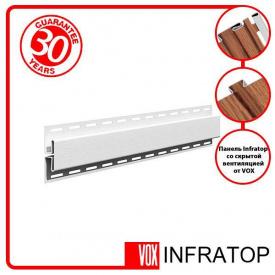 H-планка Софіт VOX Infratop Біла 3,05м