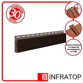 J-планка Софіт VOX Infratop Коричнева 3,05м