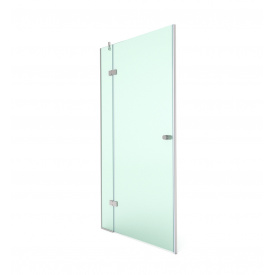 Распашная душевая дверь в нишу 200х90 СтеклоДизайн