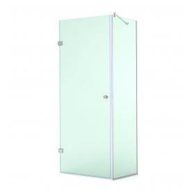 Распашная душевая дверь в нишу 190х110 СтеклоДизайн