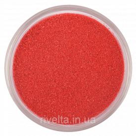 Цветной песокRAL 3018 Полунично-червоний
