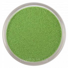 Цветной песок RAL 6018 Жовто-зелений
