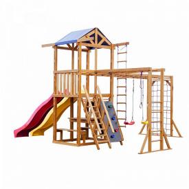 Детская площадка SportBaby Babyland-12 деревянный комплекс