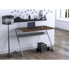 Письменный стол Z-110 Loft-design лдсп под цвет натурального дерева темный венге-корсика