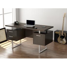 Письменный стол Loft-design L-81 двухтумбовый для офиса