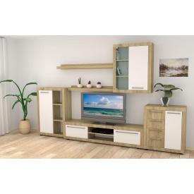 Модульная мебель для гостиную Компанит МГ-1-A цвет дсп дуб-сонома-комби наборная