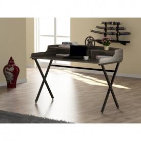 Письменный стол Loft-design L-10 металлический столешница лдсп серый дуб-палена