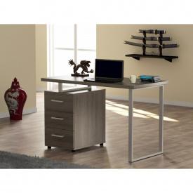 Письменный стол Loft-design L-27 с тумбочкой лдсп дуб-палена