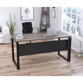 Письменный стол Loft-design G-160-32 Темный дуб-палена с царгой