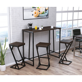 Кухонный барный стол BS-125 Loft-Design