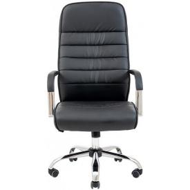 Кресло компьютерное офисное Richman Lion черное для руководителя директора