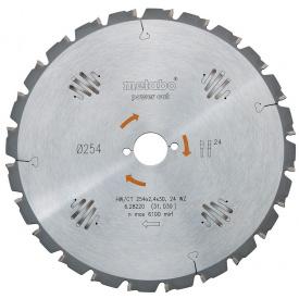 Пильный диск Metabo 190x30 HW/CT 16FZ/FA (628006000)