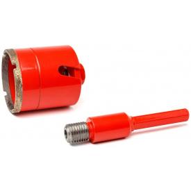 Алмазный подрозетник Super HARD 75 мм SDS+/шестигранник (PLD-75 SDS+/шест)