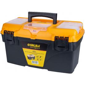 Ящик для инструмента Sigma со съёмными органайзерами (7403941)