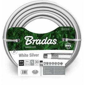 Шланг для полива Bradas NTS WHITE SILVER 3/4 дюйм - 20м (WWS3/420)