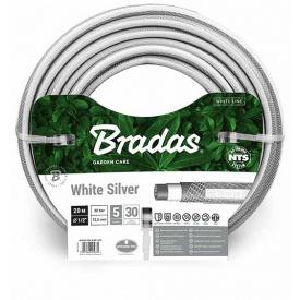 Шланг для полива Bradas NTS WHITE SILVER 1/2 дюйм - 30м (WWS1/230)