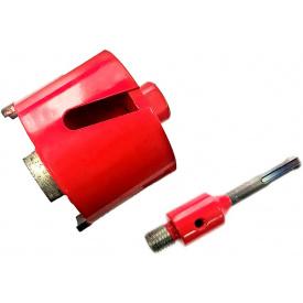 Алмазный подрозетник Super HARD 82 мм SDS+/шестигранник (PLD-82 SDS+/шест)